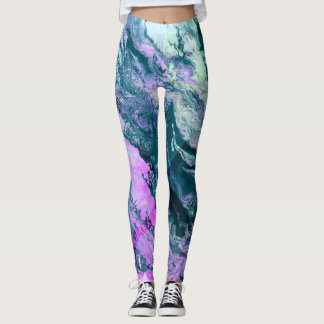 Aquatic Wimsy Leggings