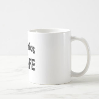 Aquatics For Life Basic White Mug