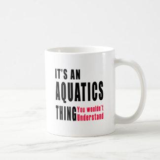 Aquatics Thing Designs Coffee Mugs