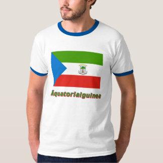 Äquatorialguinea Flagge mit deutschem Namen Shirts