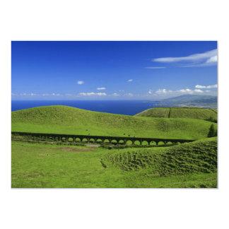 Aqueduct - Azores islands 13 Cm X 18 Cm Invitation Card