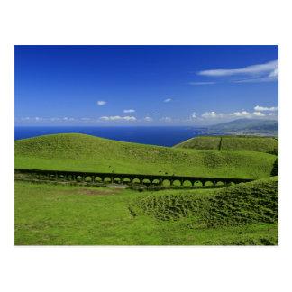 Aqueduct - Azores islands Postcard