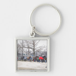 Aqueduct CALL TO THE POST Key Ring