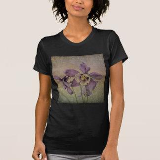 Aquilegia Delicate Textured . T-Shirt