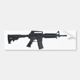 AR15 assault rifle Bumper Sticker