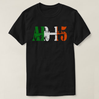 AR15 IRELAND FLAG T-Shirt