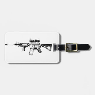 AR15 LUGGAGE TAG