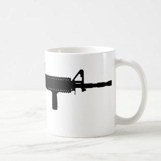ar-15 basic white mug