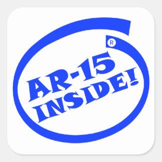AR-15 INSIDE! - Window/Bumper Sticker