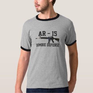 AR-15 Shirt - Zombie Defense