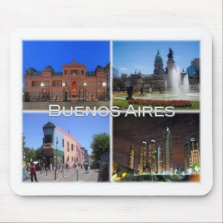 AR Argentina - Buenos Aires - Mouse Pad