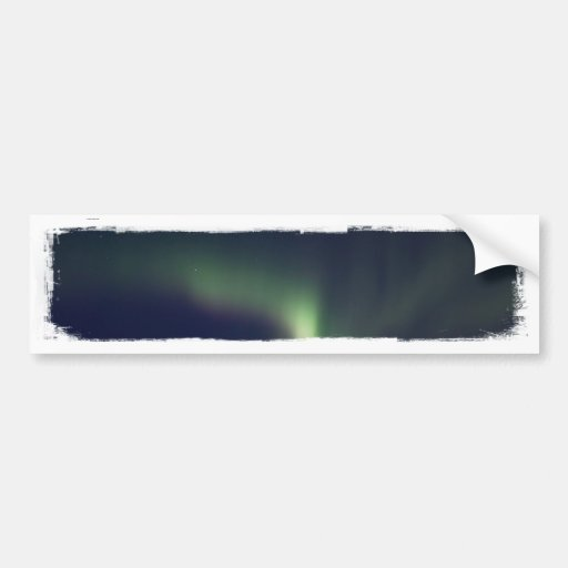 AR Aurora Reaching Bumper Sticker