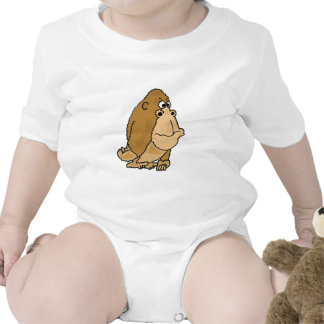 AR- Funny Gorilla Cartoon Baby Outfit Baby Creeper