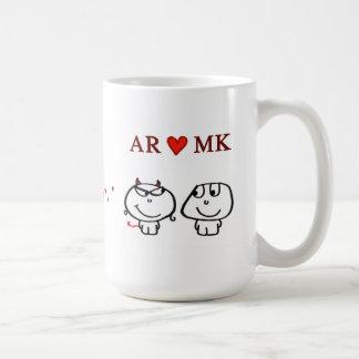 AR heart MK Mug