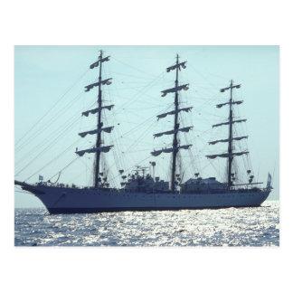ARA Libertad ship Postcard
