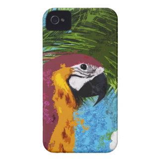 Ara parrot iPhone 4 cover