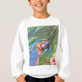 Ara parrot sweatshirt