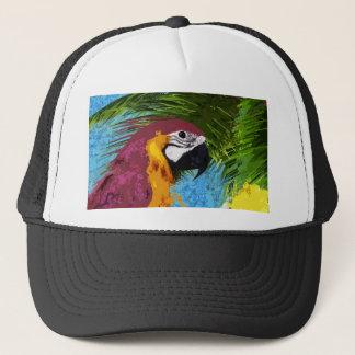 Ara parrot trucker hat