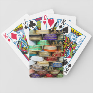 Arab Caps At Market Bicycle Playing Cards