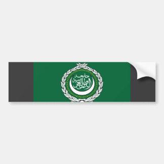 Arab League Flag Bumper Sticker