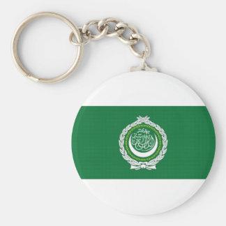 Arab League Flag Key Ring