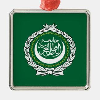 Arab League flag symbol islamic muslim Metal Ornament