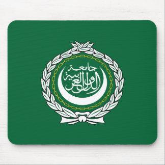 Arab League flag symbol islamic muslim Mouse Pad