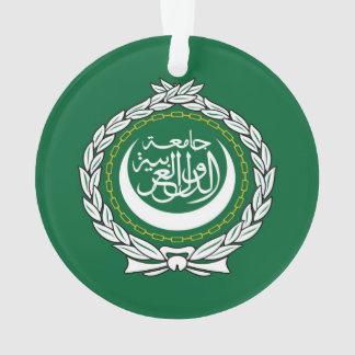 Arab League flag symbol islamic muslim Ornament