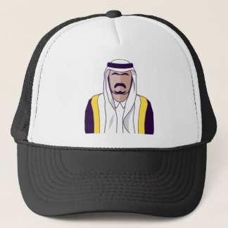 Arab Prince vector Trucker Hat