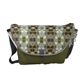 Arabesc Pattern Rickshaw Messenger Bag