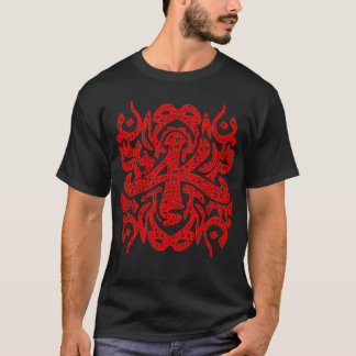 ARABESQUE AK RED T-Shirt