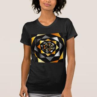 Arabesque background in metallic colors T-Shirt