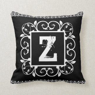 Arabesque cushion Branca Letter 40,6 cm x 40,6 cm