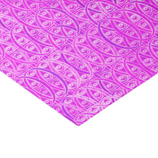 Arabesque damask - lavender and orchid tissue paper