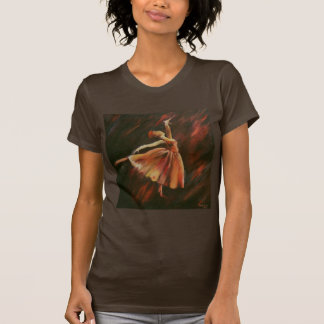 Arabesque Dancer Woman's Tee Shirt