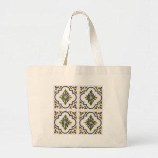 Arabesque Design Tote Bags
