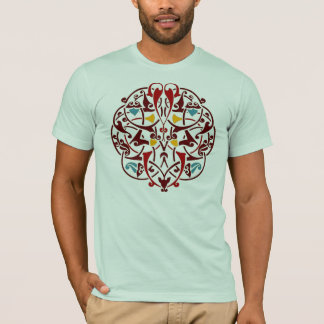 Arabesque Islam Islamic Persian Decor Art T-Shirt