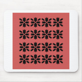 Arabia pink design elements mouse pad