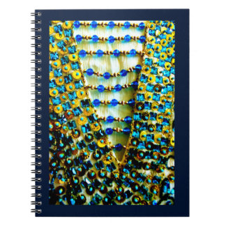Arabian Bead Design Spiral Notebook