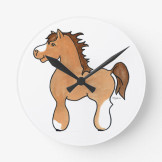 Arabian CommPony clock