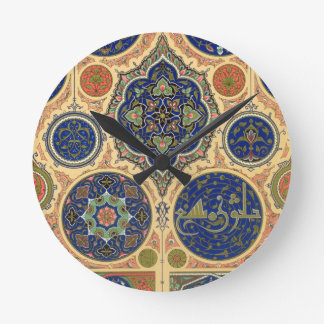 Arabian Decoration, plate XXVII from 'Polychrome O Wall Clock
