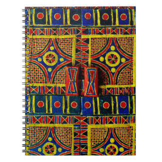 Arabian Door Design Spiral Notebook