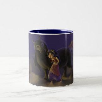 Arabian Girl and Magic Horse Mug