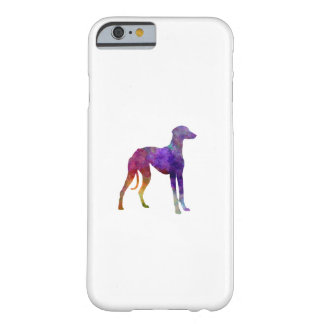 Arabian Greyhound in watercolor Barely There iPhone 6 Case
