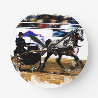 Arabian Harness Horse Wall Clock