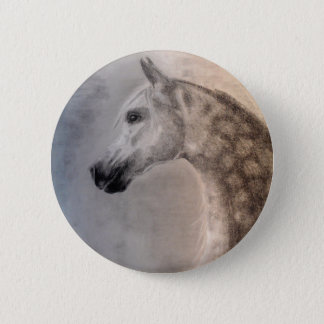 Arabian Horse Button