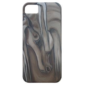 Arabian Horse Gray iPhone 5 Covers