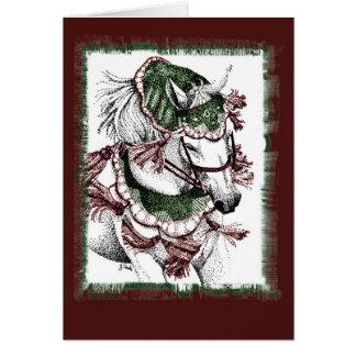 Arabian Horse Holiday Christmas Card