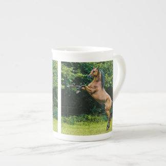 Arabian Horse Painting Tea Cup