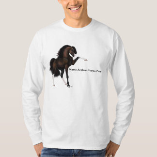 Arabian Horse Passion Brown T-Shirt